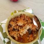 Crumble prune (tonka et epices) avec muesli (3)