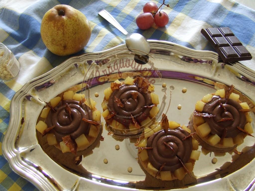 Sablé poire cassis chocolat W. Curley 11.10 (3)