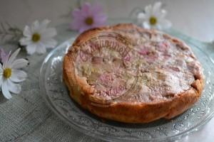 Gâteau renversé rhubarbe 10.11 (2)