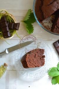 Gâteau au yaourt et chocolat de P.C. (2)