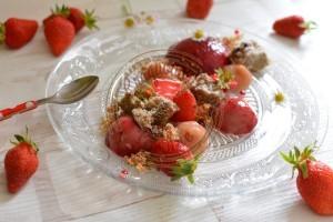 Mon asssiette aux fraises mousse thé et goyave 5.06.16 (4)
