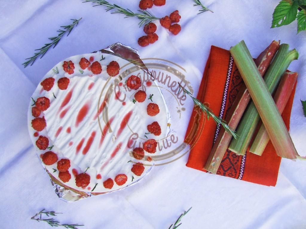 Rosemary Framboise rhubarbe, Brioche, romarin 10.07.16 (2)