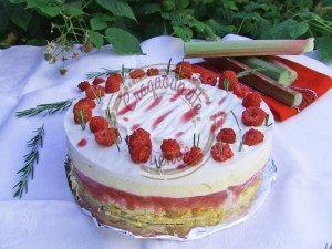 Rosemary Framboise rhubarbe, Brioche, romarin 10.07.16 (4)