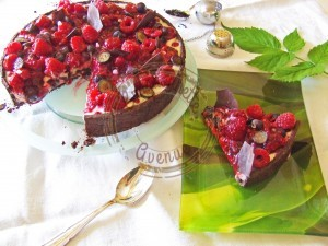 Tarte myrtilles framboises thé noir3