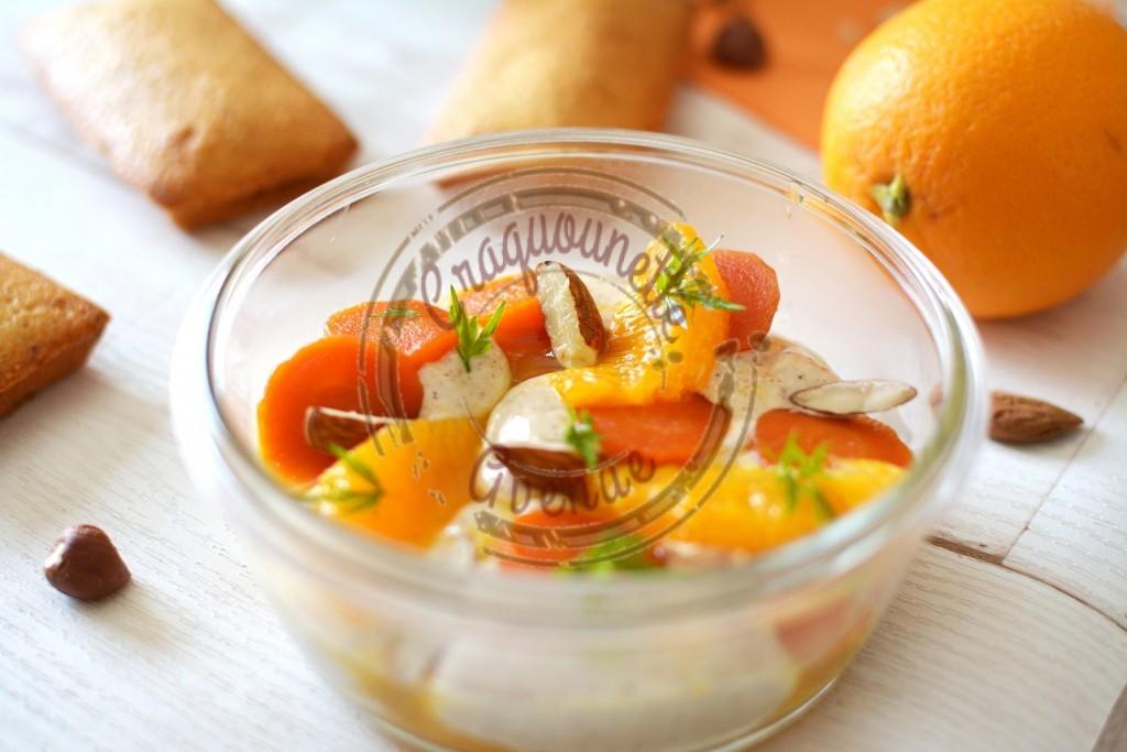 Crème amandes, carottes et oranges 1.04.16 P. Hermé (4)