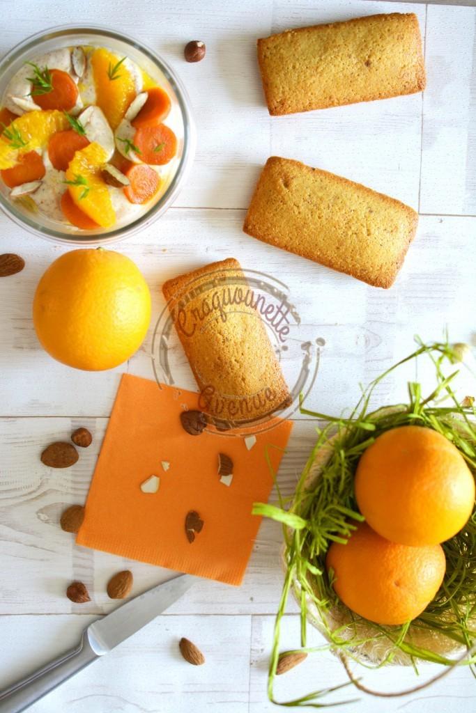 Financier carottes, oranges et baies roses P.Hermé 1.04.16 (3)