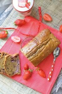 Cake aux fraises 3.05.16 (1)