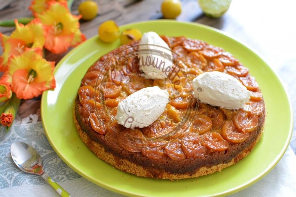 Gâteau renversé aux mirabelles (Battle Food #45)