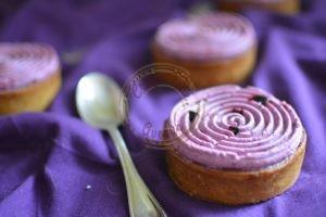 Tarte myrtille violette conticini